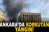 Son dakika... Ankara'da korkutan yangın!