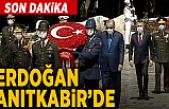 Son dakika: Cumhurbaşkanı Erdoğan ve YAŞ üyelerinden Anıtkabir'e ziyaret