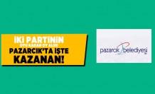 İki partinin oyu kadar oy aldı! İşte Pazarcık'ta kazanan!
