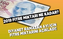 2019 Fitre miktarı ne kadar? Diyanet Ramazan ayı için Fitre miktarını açıkladı!