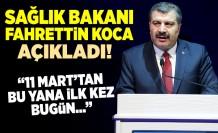 Son dakika: Sağlık Bakanı Fahrettin Koca koronavirüste yeni vaka sayısını açıkladı.