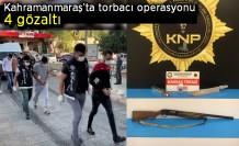 Kahramanmaraş'ta torbacı  operasyonu  4 gözaltı