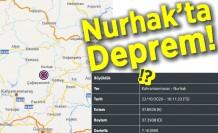 Nurhak'ta Deprem!