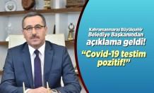 Kahramanmaraş Büyükşehir Belediye Başkanı açıkladı!