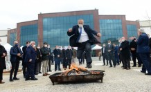 Nevruz Bayramı Üniversitemizde Şehir Protokolünün de Katılımıyla Coşku İle Kutladı