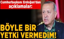 Cumhurbaşkanı Erdoğan'dan canlı yayında flaş açıklamalar