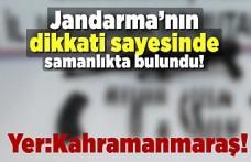 Jandarma'nın dikkati sayesinde samanlıkta bulundu! yer:Kahramanmaraş!