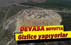 Arnavutköy'de kaçak hafriyatlar mahalleliyi isyan ettirdi