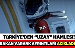 Türkiye'den 'uzay' hamlesi! Bakan...