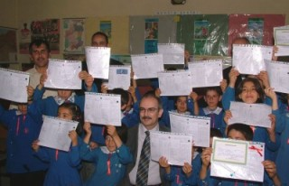 Kahramanmaraş'ta 216 bin öğrenci karne aldı