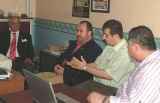 Prof. Dr. Mehmet Sağlam'dan Kanal 46'ya ziyaret