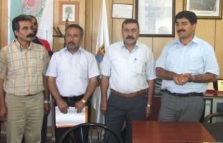 Narlı Belediyesi, 28 işçiyle sözleşme imzaladı