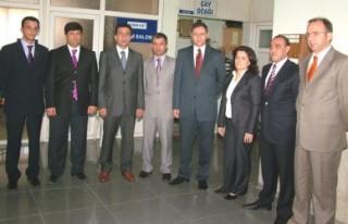 Ersin Özkan görevi Bülent Koçak'a devir etti..