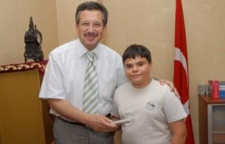 ÖBEK öğrencilerinden Poyraz'a ziyaret