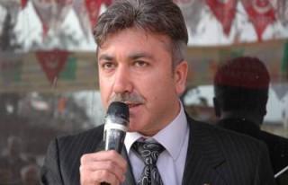 BBP'nin Türkoğlu adayı Nedat Türk