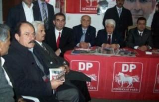 DP'nin seçim bürosu açıldı