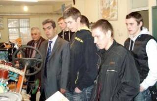 Litvanyalı öğrenciler staj görüyor
