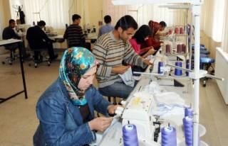 AB destekli konfeksiyon işçisi yetiştirme projesi