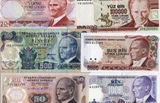 Dolaşımdaki banknot sayısı azaldı!