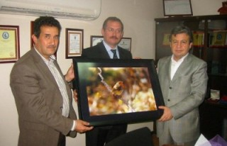 Turizm Birliği'nden KASİAD'a teşekkür ziyareti...