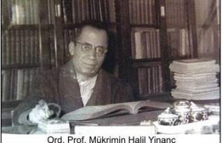 Ord. Prof. Yinanç adına Vakıf kuruldu..