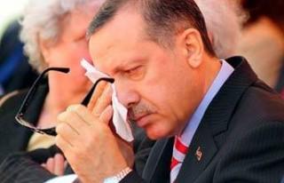 Erdoğan kürsüde gözyaşlarını tutamadı!..