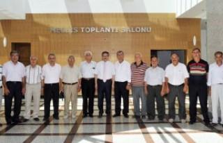 Muhtarlardan Poyraz'a 'Hayırlı Olsun' ziyareti