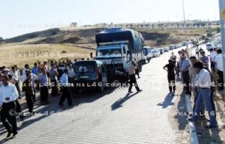OSB yolunda trafik kazası: 2 ölü, 2 yaralı