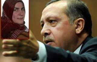 Erdoğan'dan türbanlı üyeye sert tepki!