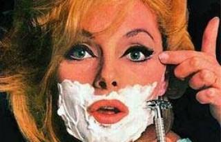 Kadınlar da sinekkaydı tıraşa başladı!...