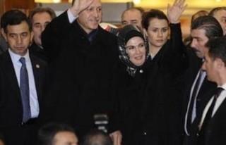 Başbakan ameliyat sonrası ilk kez Ankara'da...