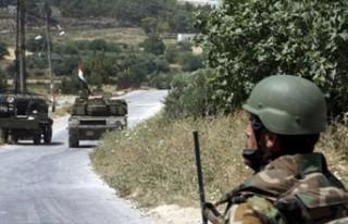 '70 Suriyeli asker firar ederken vuruldu'