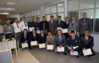 Ulaşım Hizmetleri personeline sertifika...