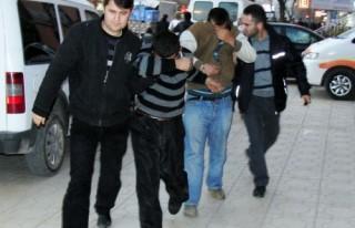 Telekom'un kablosunu çalan 4 kişi tutuklandı…