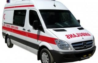 Ambulansa bağış yapanın ismi yazılacak..
