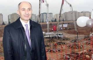 AVM Maraş Park'ın temeli törenle atıldı...