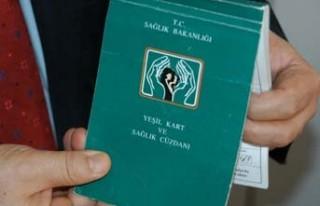 450 bin yeşil kart iptal!