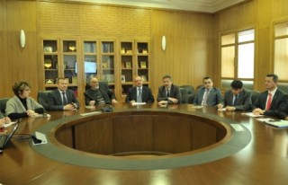 Suk-ı Maraş, protokole sunumla anlatıldı..