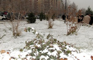 Kent merkezine mevsimin 3. karı düştü!