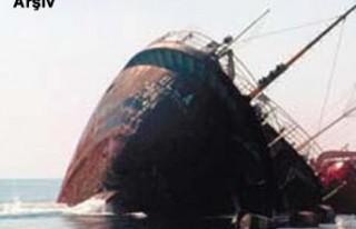 Zonguldak'ta kuru yük gemisi battı!