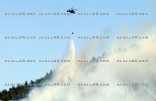 FLAŞ: Ahirdağı'nda orman yangını!..