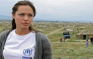 Angelina Jolie Türkiye'ye geldi..