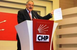 CHP 'Oslo Protokolü'nü açıkladı..