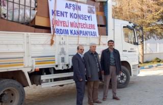 Hatay'daki Suriyelilere yardım gönderildi…