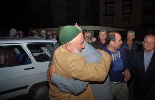 Afşin'de hacı adayları uğurlandı