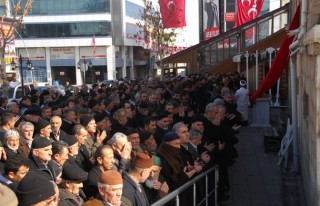 Akyıldız için Afşin'de gıyabi cenaze namazı...