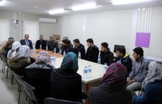 Suriyeli gençler üniversiteli oldu