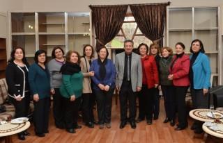 Başkan Poyraz 'ın veda ziyaretleri sürüyor