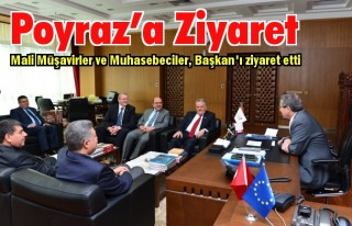 Muhasebeciler Odası'ndan Poyraz'a ziyaret