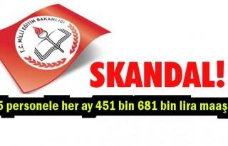 MEB'de 'dudak uçuklatan' maaş skandalı!